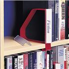 Image of Gressco Angled Label Holder for Clip-On Bookend