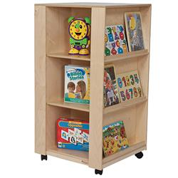 Wood Designs™ Library and Display Center