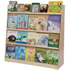 Image of Wood Designs™ Single-Section Jumbo Book Displayer