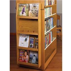 Wooden Mallet End-of Range Literature Displayers