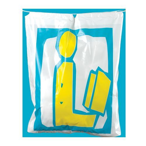 Plastic Book Bag Zoom