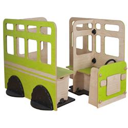Greenplay® Group Loop Collection™ Go Bus Activity Station