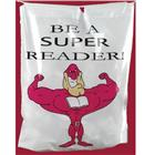 Image of Brodart Be a Super Reader Plastic Book Bag