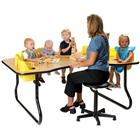 Image of Junior Activity Table with Built-In Seats