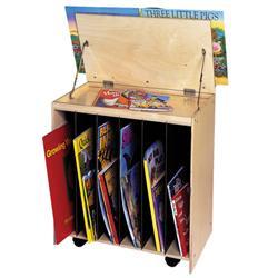 Beau Big Book Easel/Display Storage