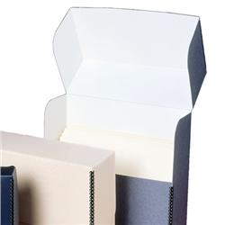 Extra-Deep Gray/White Document Cases