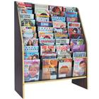 Image of Freestanding 40-Magazine/80-Brochure Display Rack