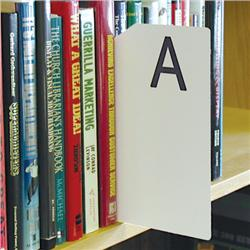 Brodart Sign Shop Alphabetical Shelf Marker Set
