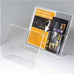 Heavy-Duty Acrylic Horizontal Sign and Poster Holders