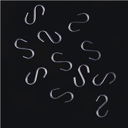 """S"" Hooks for Hanging Signs"