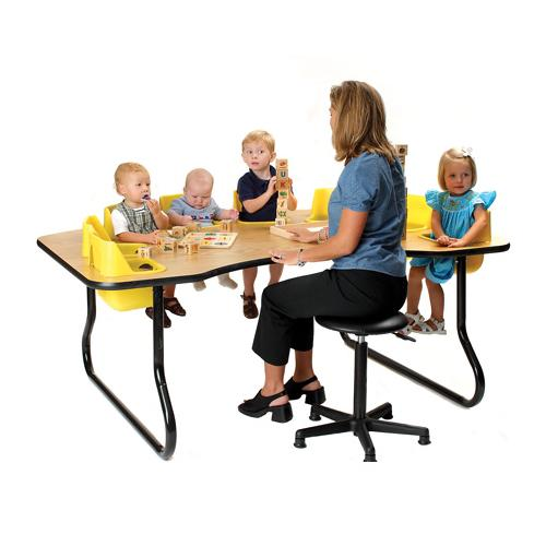 Toddler Activity Tables With Built In Seats. Zoom
