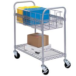 Safco Products Wire Mail Carts
