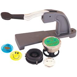 Mr. Button® Bench-Style Pin-Back Button Press with Deluxe Die