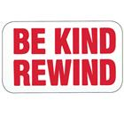 "Image of Brodart ""Be Kind Rewind"" Media Labels"