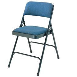 National Public Seating Upholstered Fabric Folding Chairs