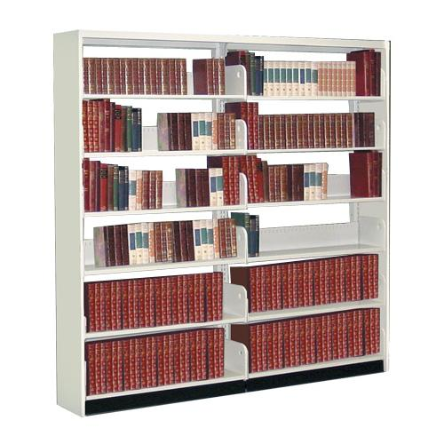 Zoom  sc 1 st  Brodart & Montel Aetnastak Double-Faced Closed-Style Steel Starter Shelving ...