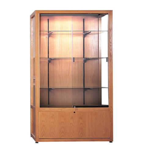 Brodart Freestanding Exhibit Case