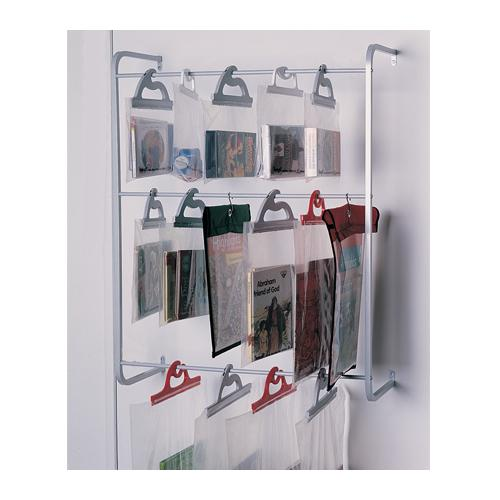 Monaco Wall-Mount Three-Tier Hang-Up® Bag Rack