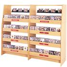 "Image of Brodart 61""H CD Display Starter with Multipack Trays"
