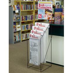 Book Jacket Cover 10-Pack Display Rack