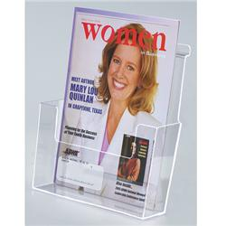 Molded Countertop/Slatwall Magazine Holder