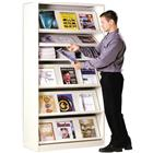 Image of Montel Freestanding Periodical Displayer & Storage Unit
