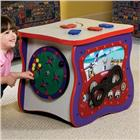 Image of Playscapes® Toddler Oasis-Red Speckletone