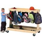 Image of Gressco Mobile Backpack Cart