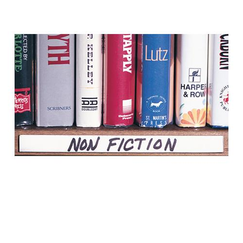 aigner label holder hol dex self adhesive shelf label holders. Black Bedroom Furniture Sets. Home Design Ideas