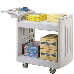Safco® Molded Utility Cart