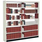 Image of Montel Aetnastak Double-Faced Closed-Style Steel Flat Adder Shelving with Canopy