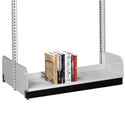 Estey Double-Faced Steel Backstop Base Shelf