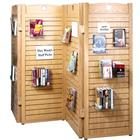 Image of Brodart Ovation Four-Panel Slatwall Room Divider