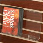Image of Acrylic DVD/Paperback Slatwall Shelf