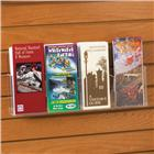Image of Four-Pocket Acrylic Slatwall Pamphlet Holder