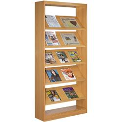 Brodart Double-Faced Fixed Periodical Starter Shelving