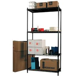 Safco Products Add-On Units for Wire Utility Shelving