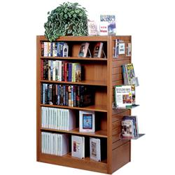 Brodart Mobile Shelving with Flat Top