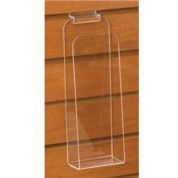 Open-Pocket Acrylic Slatwall Pamphlet Holder