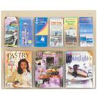Image of Safco Products Clear 2C Economy 6-Magazine Displayer