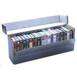 Drop-Front VHS Storage Box