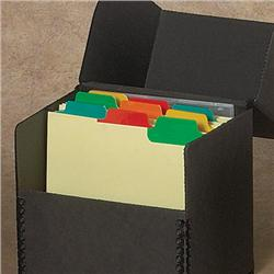& Disc Storage Box Dividers with Index Tabs