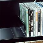 Image of Brodart CD/DVD Step Shelf Upright Support