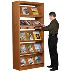 Image of Brodart Classic Single-Faced Tilt & Store Periodical Adder Shelving