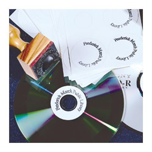 Brodart Custom-Printed CD Labels