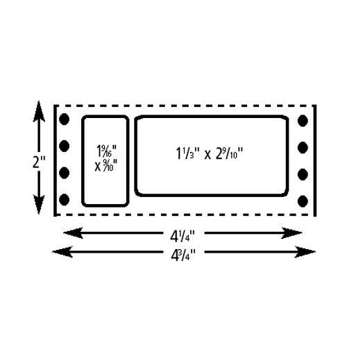 Brodart Slb Continuous Paper Label Sets