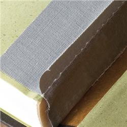 Brodart Gray Double-Stitched Binder Tape