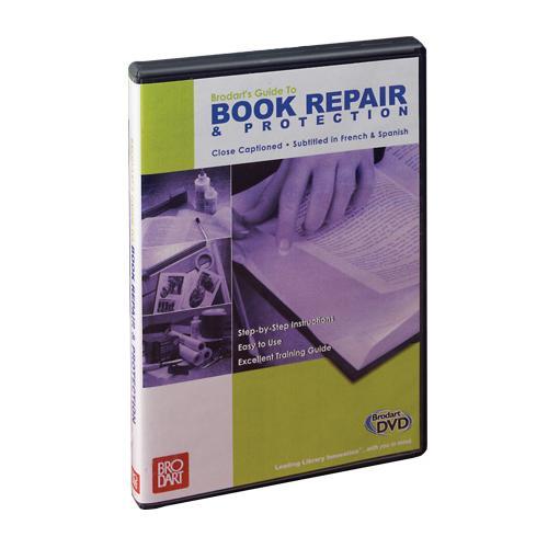 brodart dvd guide to book repair and protection rh shopbrodart com Online Auto Repair Guide Online Repair Guide