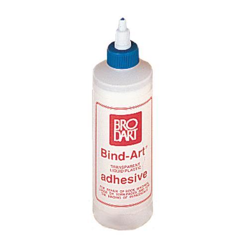 Brodart 8-Oz. Bind-Art Flexible Adhesive
