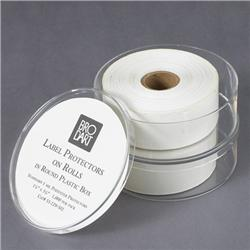 Brodart 1-Mil Polyester Round-Boxed Label Protectors